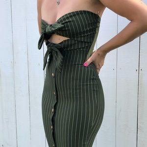 Dresses & Skirts - Women's Sexy Bodycon Tux Dress